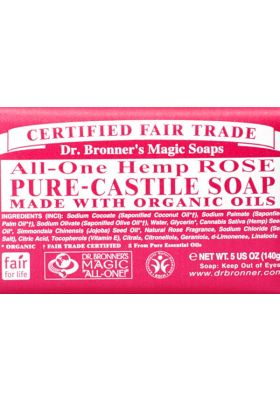 Rose Pure-Castile Bar Soap