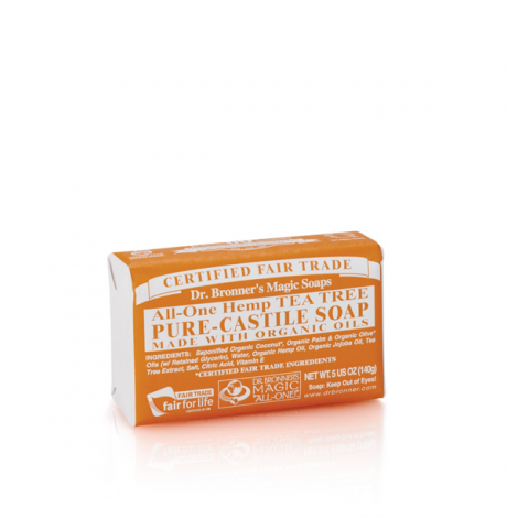 Dr. Bronner's - Tea Tree Pure-Castile Bar Soap
