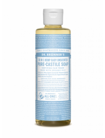 Dr. Bronner's - Baby Unscented Pure-Castile Liquid Soap