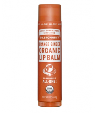 Dr. Bronner's - Orange Ginger Organic Lip Balm