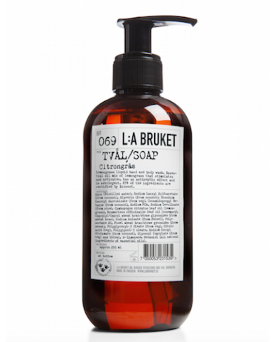 L:A BRUKET - Liquid soap Lemongrass