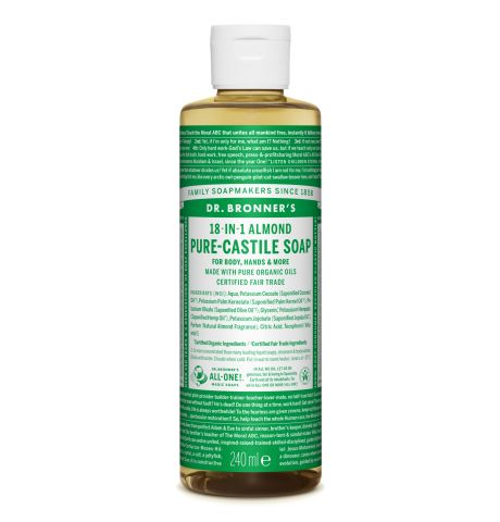 Dr. Bronner's - Almond Pure-Castile Liquid Soap