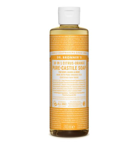 Dr. Bronner's - Citrus-Orange Pure-Castile Liquid Soaps