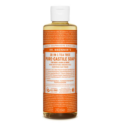 Dr. Bronner's - Tea Tree Pure-Castile Liquid Soaps
